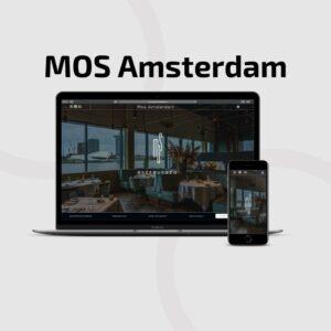 Website Design Restaurant Mos Amsterdam