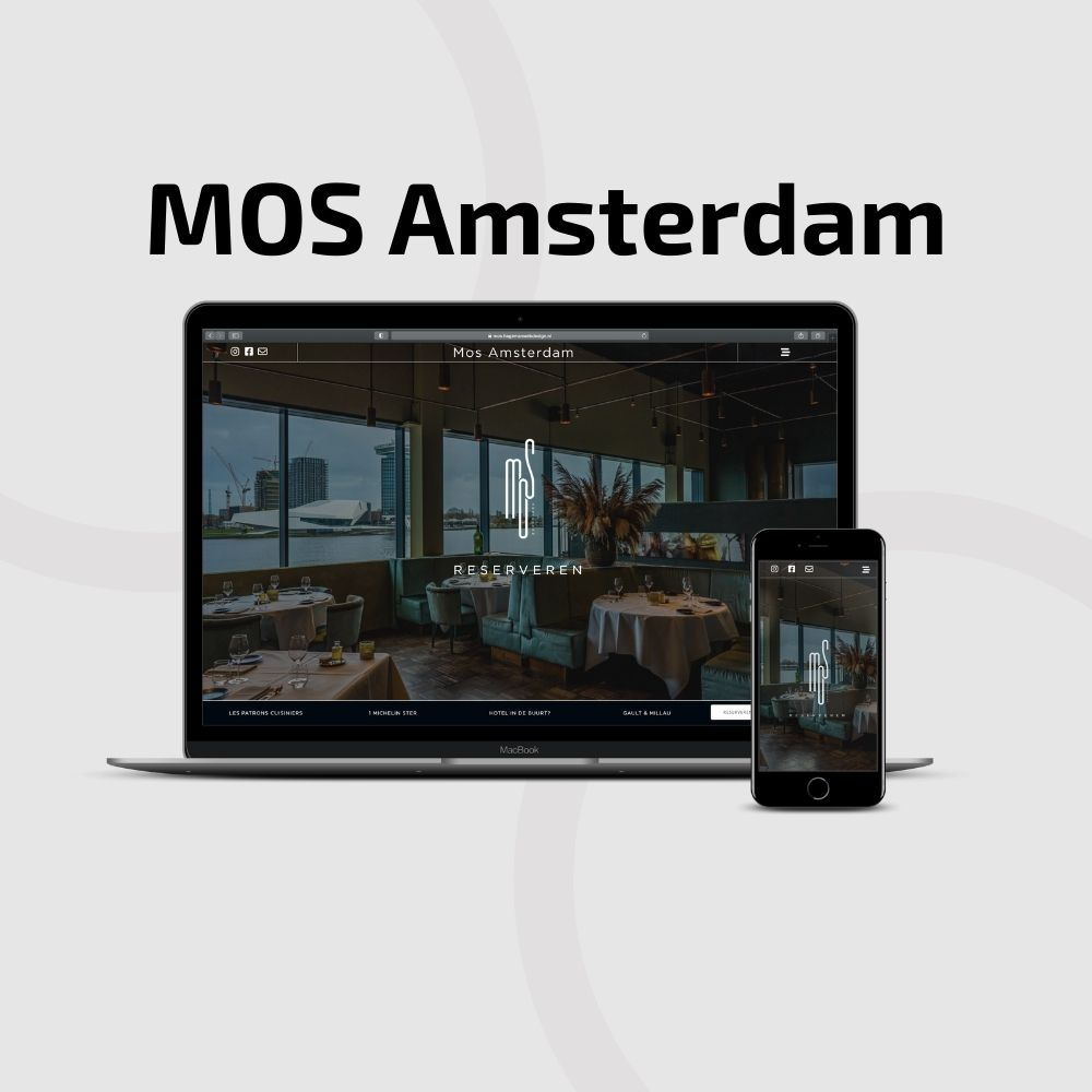 Website Design Restaurant Mos Amsterdam