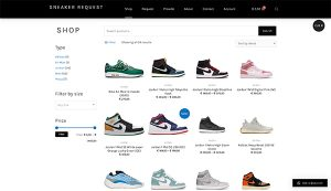 Sneaker Request By Hageman Webdesign 2