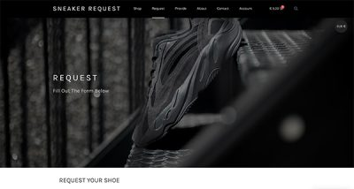 Sneaker Request By Hageman Webdesign 3