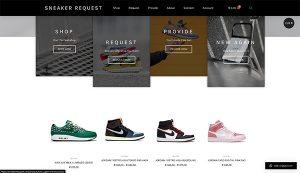 Sneaker Request By Hageman Webdesign